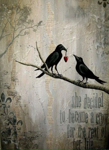 heart crows
