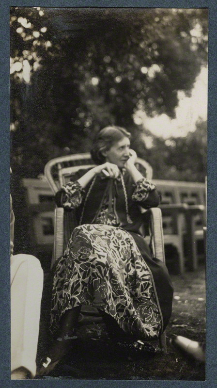 NPG Ax142596; Virginia Woolf (nÈe Stephen) by Lady Ottoline Morrell